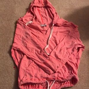 3/4 sleeve American eagle sweatshirt